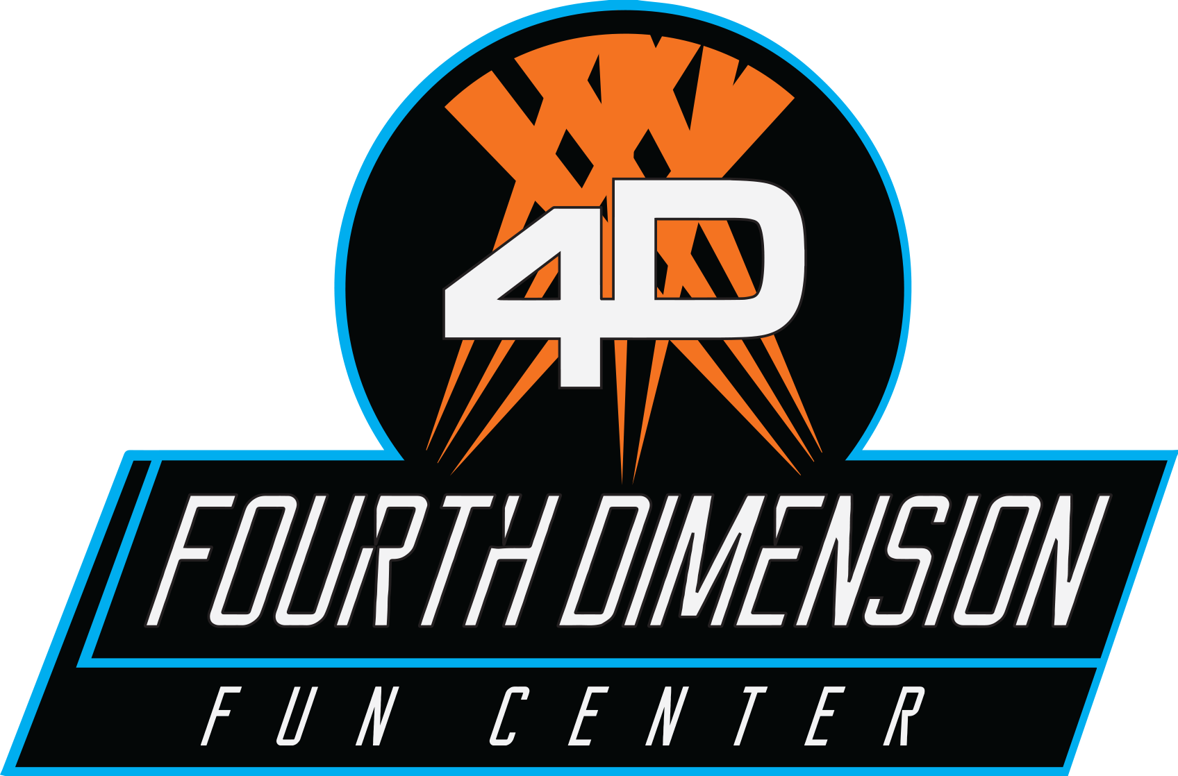 Fourth Dimension Fun Center Logo
