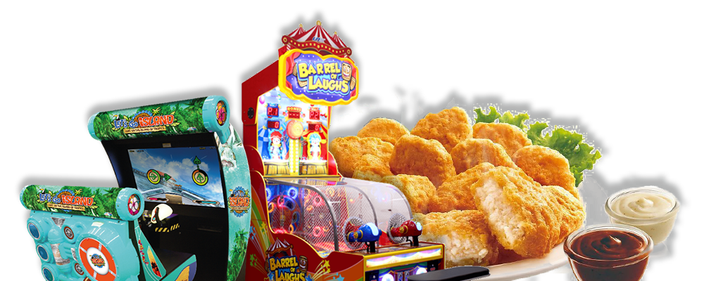 Kids Meals With Arcade Games